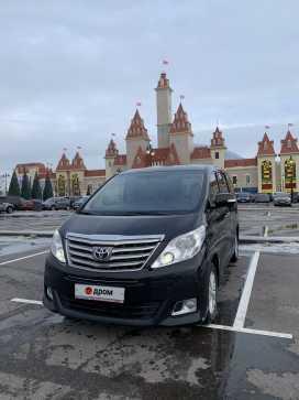 Москва Alphard 2012