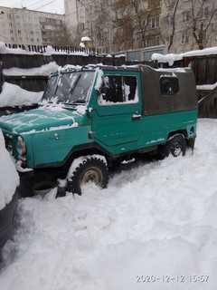 Новосибирск ЛуАЗ 1988