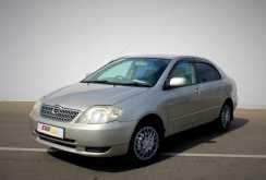 Нижний Новгород Corolla 2001