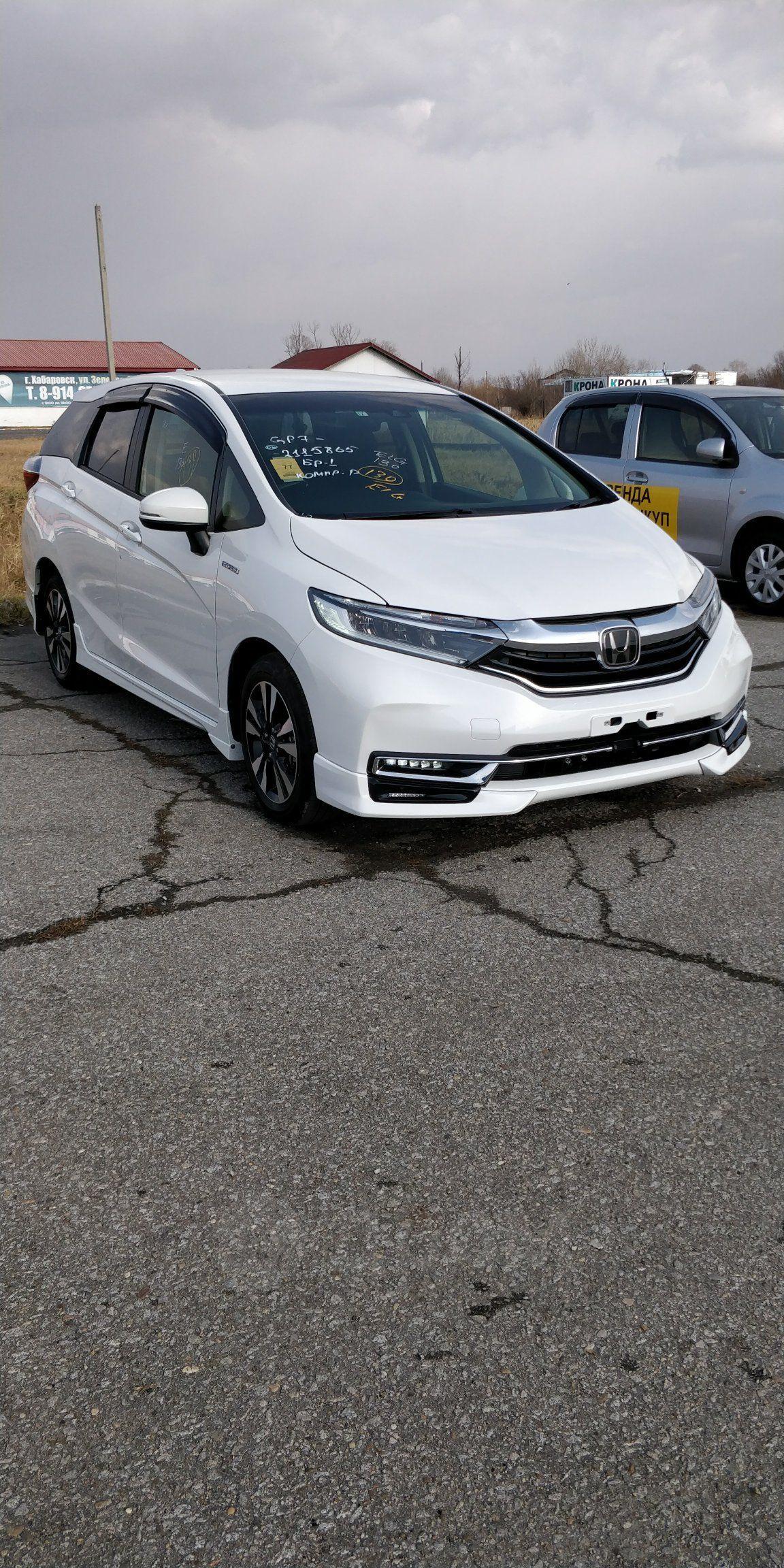 Продажа авто Хонда Шаттл 2020 в Хабаровске, HONDA SHUTTLE ...