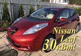 Москва Nissan Leaf 2016