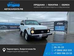 Черногорск 4x4 2121 Нива 2014