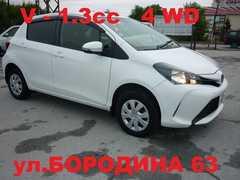 Новосибирск Toyota Vitz 2016