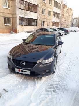 Лесной Mazda6 2015