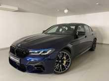 Москва BMW M5 2020