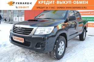 Новосибирск Hilux Pick Up 2014
