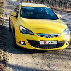 Липецк Astra GTC 2012