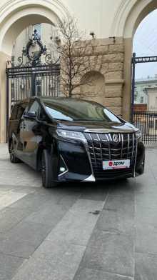 Москва Alphard 2018