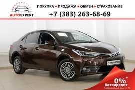 Новосибирск Corolla 2018