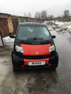 Электроугли Fortwo 2002