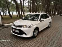Геленджик Corolla Axio 2016