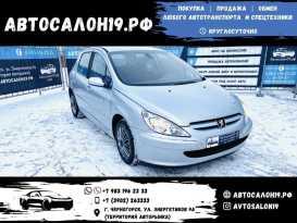 Черногорск Peugeot 307 2004
