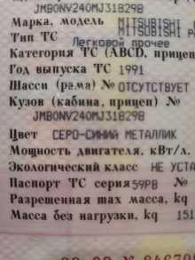 Березники Pajero 1991