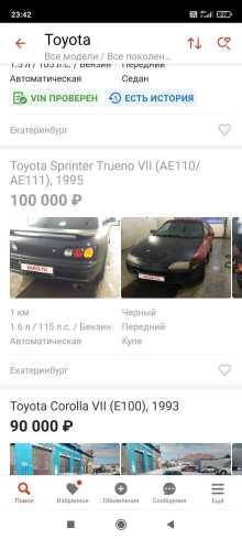 Берёзовский Sprinter Trueno