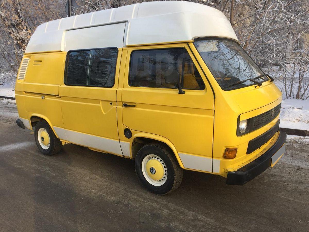 купить фольксваген транспортер желтый