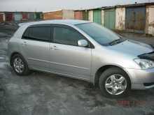 Карасук Corolla Runx 2003