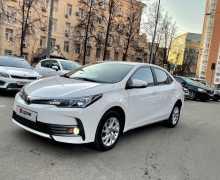 Москва Corolla 2018