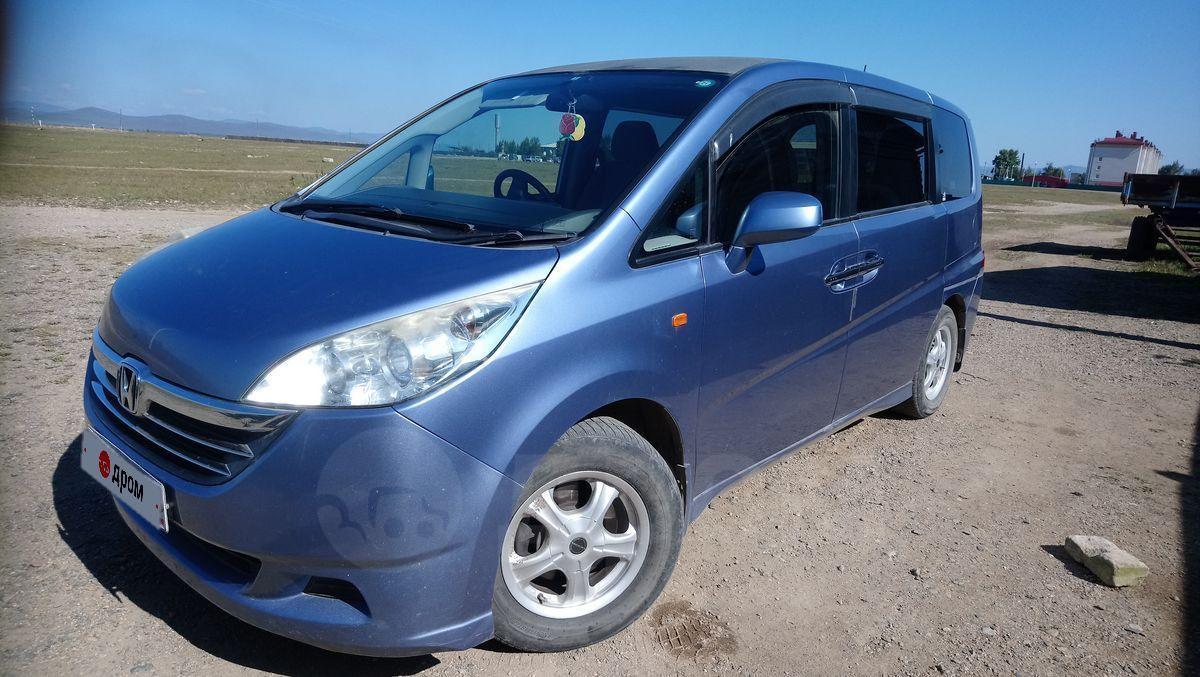 Купить Honda Stepwgn 2005 года в Чите, Дополнительно фото вайбер или вацап, бензин, голубой ...