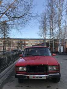 Томск 2107 1986
