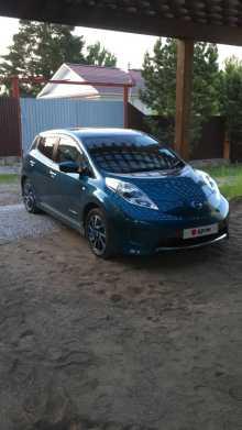 Москва Nissan Leaf 2017