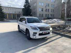 Новосибирск Lexus LX570 2013