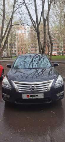 Москва Teana 2014