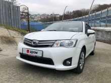 Сочи Corolla Axio 2014