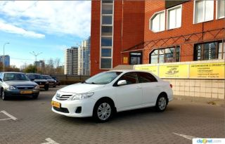 Липецк Corolla 2012
