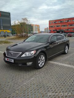 Новый Уренгой LS460 2012