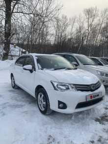 Иркутск Corolla Axio 2014